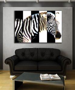 tanie ozdoby ścienne zebra