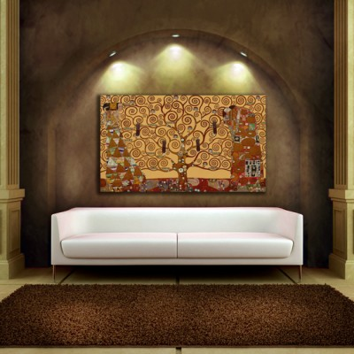 obrazy w promocji Klimt
