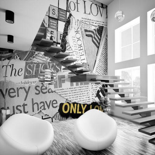 tapeta na klatkę schodową fototapeta