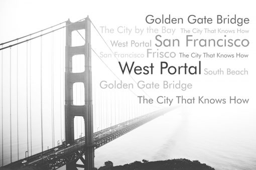 fototapeta most golden gate san francisco