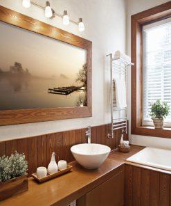 fototapeta z krajobrazem do łazienki