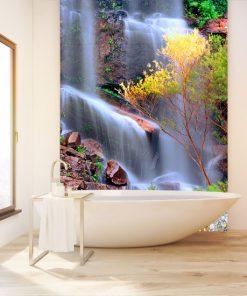 fototapeta z wodospadem na ścianę