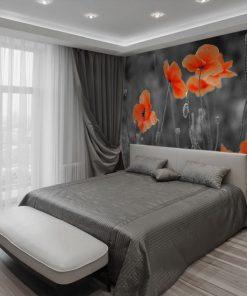 fototapeta do sypialni maki