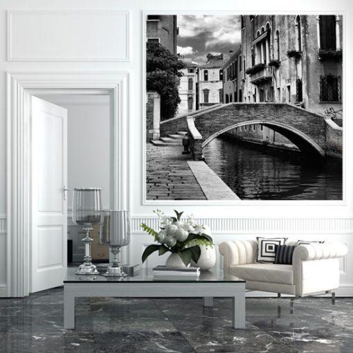 tapeta z mostem w wenecji