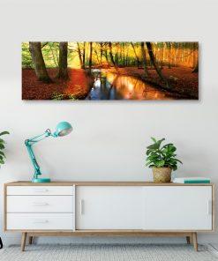 obraz leśny krajobraz do pokoju
