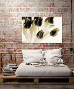 obraz bukiet tulipanów na ścianę