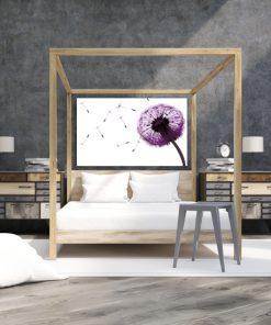 obraz do sypialni z dmuchawcem