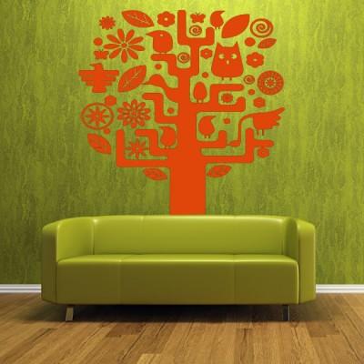 tanie ornamenty drzewo