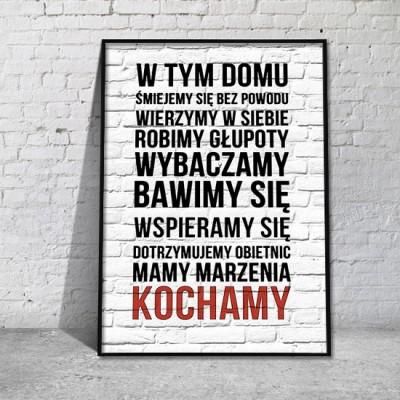 plakaty w tym domu promocja