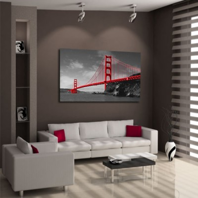 obraz z mostem