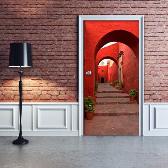 Tanie fototapety na drzwi to niedroga alternatywa dla urozmaicenia każdego pomieszczenia