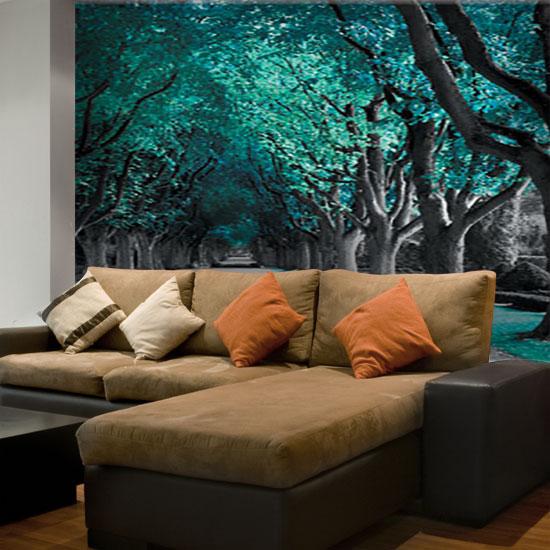 Tanie tapety ścienne łączą bogactwo wzorów i stylistyki z nadzwyczajną trwałością, związaną z wysoką jakością materiałów