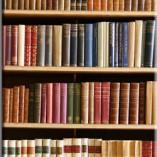 fotonaklejka z książkami
