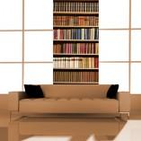 okleina z książkami