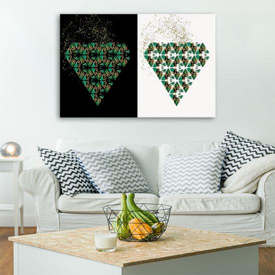 Tanie obrazy na płótnie wydrukowane na wysokojakościowych materiałach do salonu to elegancja, styl oraz gwarancja trwałości dekoracji