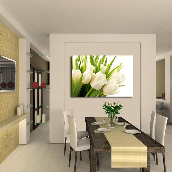 Tanie dekoracje do pokoju niedrogim sposobem na przełamanie monotonii wnętrza jest ozdobienie ściany obrazem