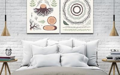 Dekoracje do domu tanio – piękne ozdoby na ściany, zobacz inspirujące aranżacje