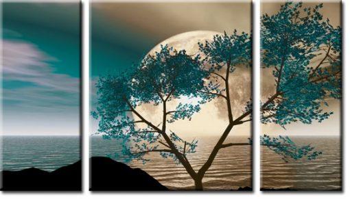 obrazy z księżycem