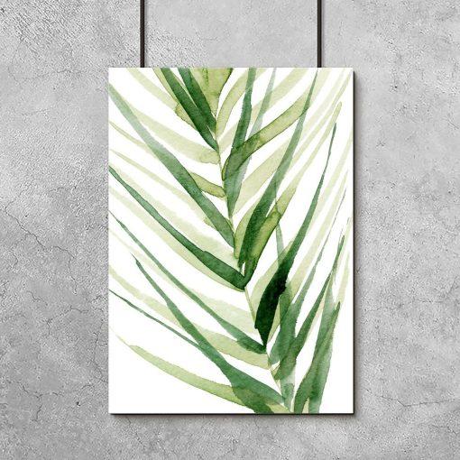 plakaty z palmą