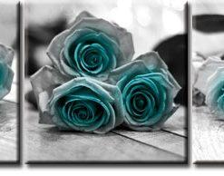 tryptyk z różami